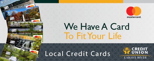 New Local Credit Cards